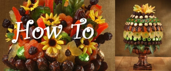 How To Make Edible Fruit Bouquets and Arrangements