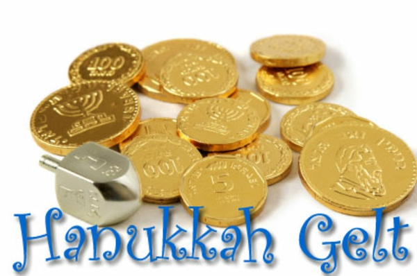 Chanukah Gelt Chocolate Coins