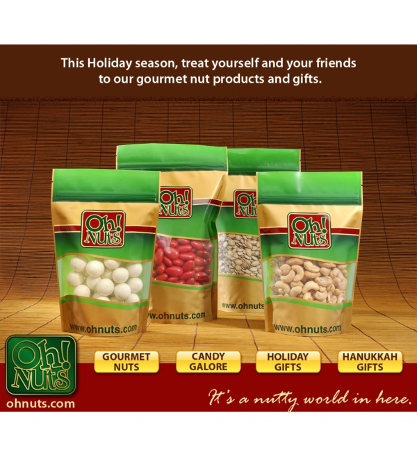 Shop for the Holidays at Oh! Nuts