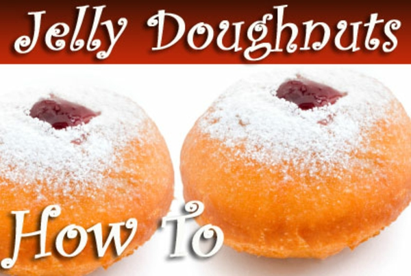 How to make Jelly Doughnuts for Hanukah