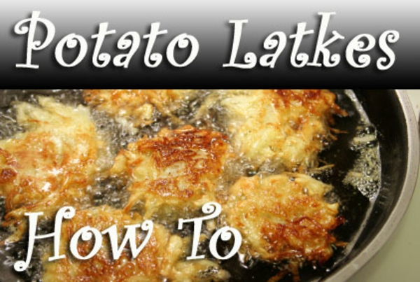 How To Make Potato Latkes for Hanukkah