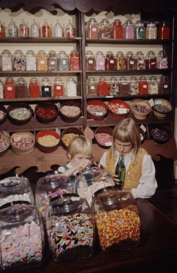 Time Life Photo Archive Candy Store