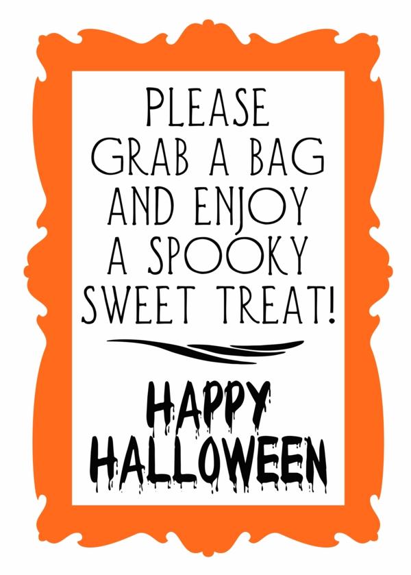 halloween sign templates