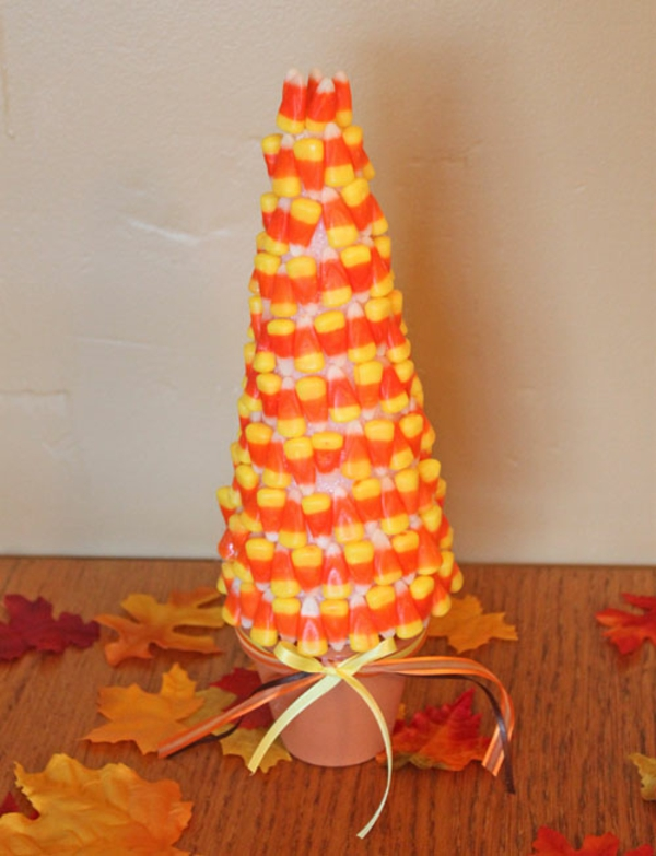 halloween crafts - Candy Corn Halloween Decorations