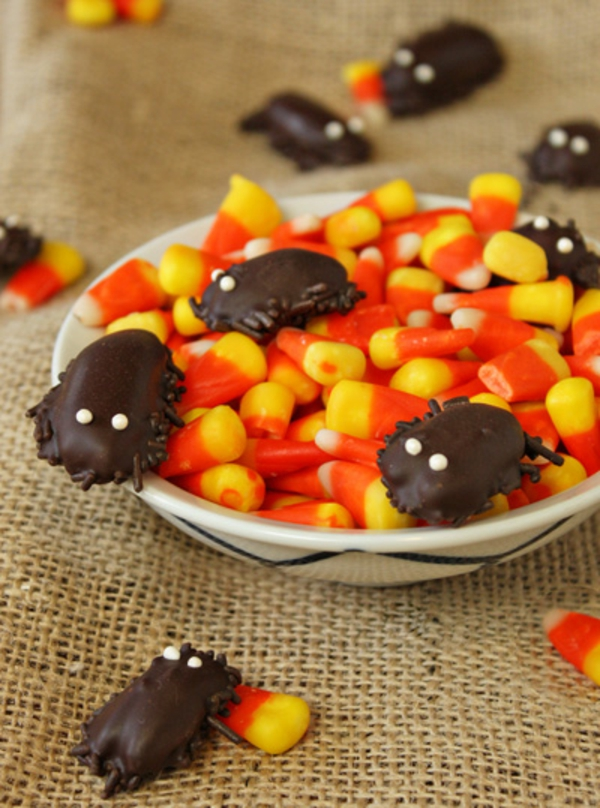 DIY Chocolate Cockroaches – Halloween Candy Recipe