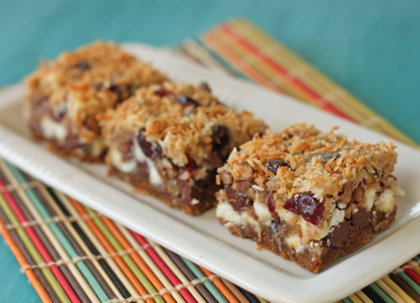 Coconut-Ginger Seven Layer Bars