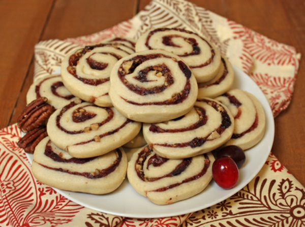 Cranberry Pecan Pinwheels Recipe