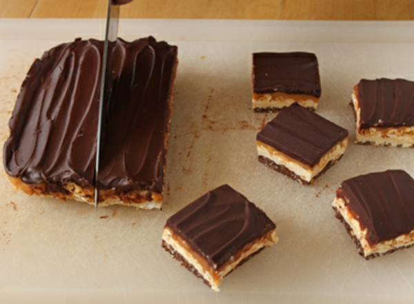 Homemade Crispy Candy Bars