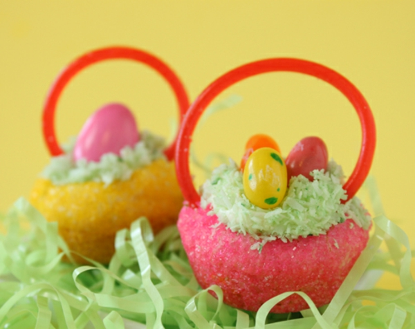 Cute Easter Basket Cookies