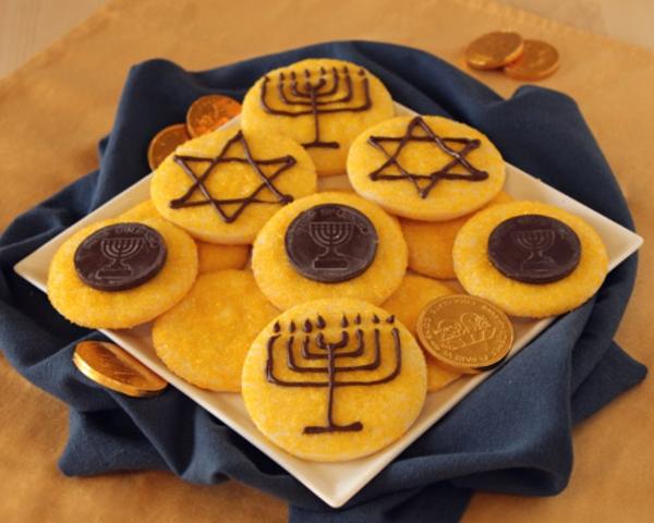 Hanukkah Gelt Coins Cookies Recipe
