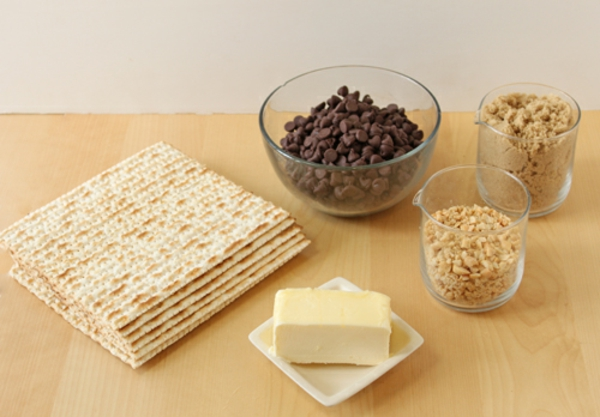 Passover Chocolate Toffee Matzah Recipe | Oh Nuts Blog