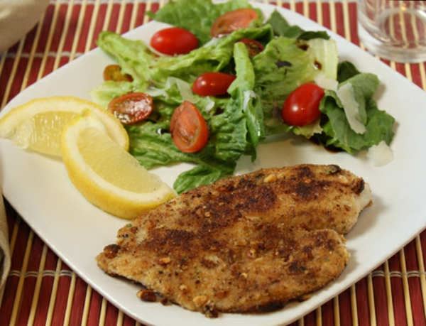 Pecan-Crusted Fish Recipe