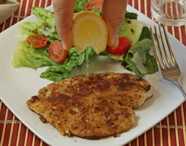 Pecan-Crusted Fish Recipe | Oh Nuts Blog