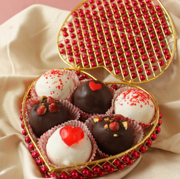 Red Velvet Cake Truffles Recipe