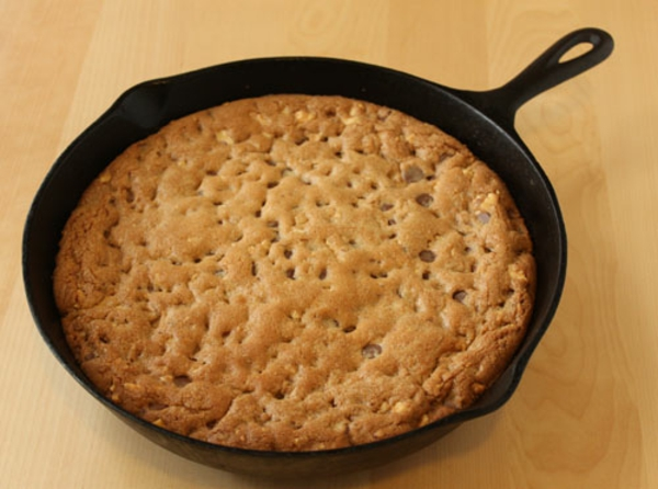 like my skillet cookie served warm, with a big scoop of vanilla bean ...