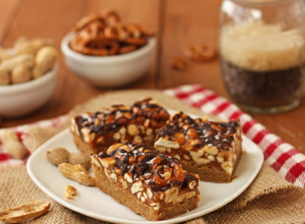 Sweet and Salty Pretzel & Peanut Superbars Recipe