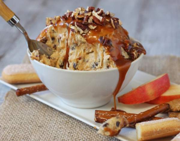 Pecan Caramel Cheesecake Dip Recipe
