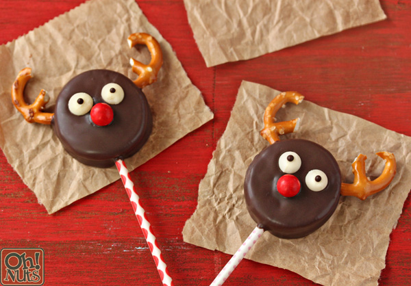 How To Make Reindeer Oreo Cookie Pops