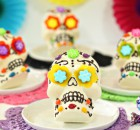 White Chocolate Skulls for Halloween