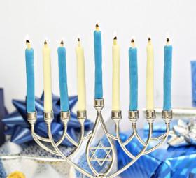 Edible Menorah Candles