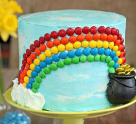 Candy Rainbow Cake
