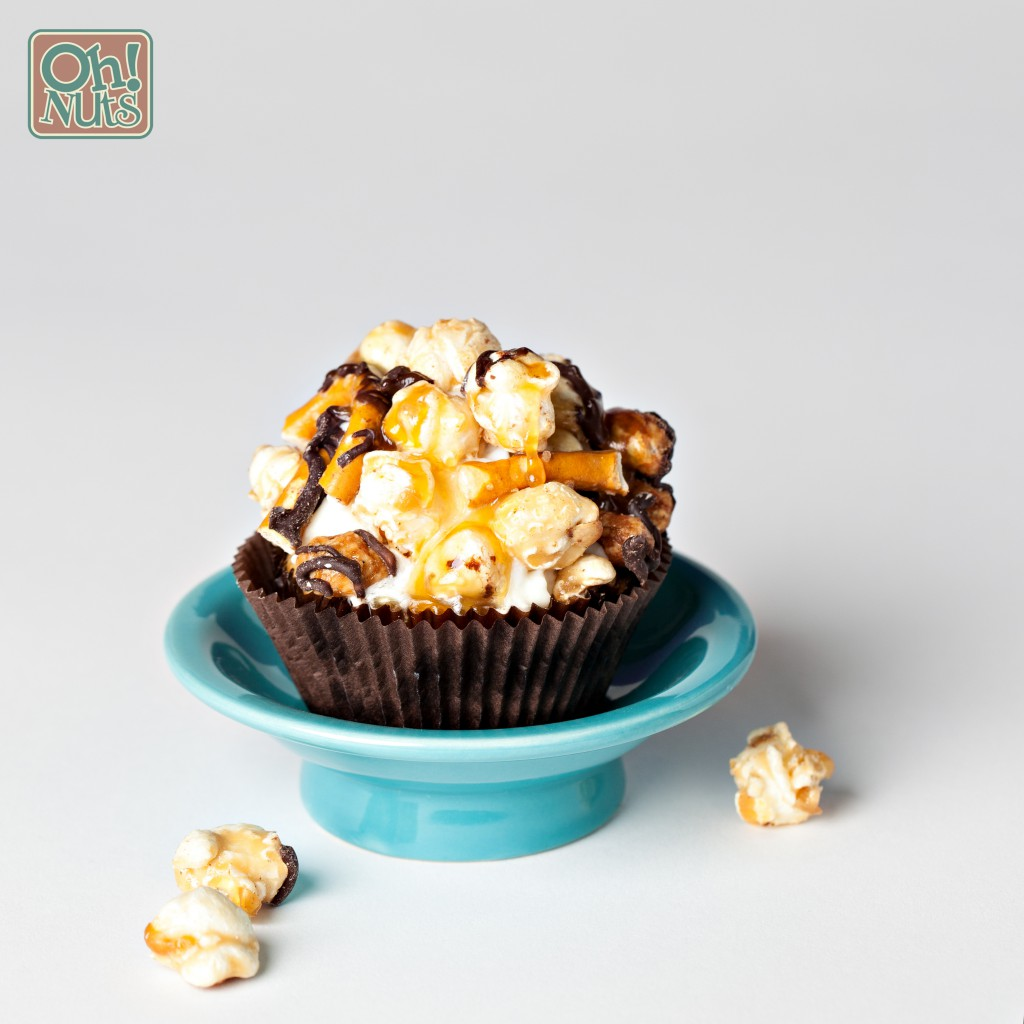 Popcorn Cupcakes Recipe From Scratch Caramel Oh Nuts Blog