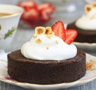 Flourless Chocolate Hazelnut Cakes