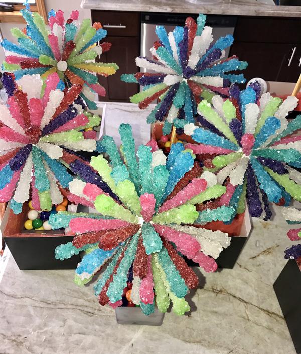 Miraculous Rock Candy Sticks Centerpieces Beutiful Home Inspiration Xortanetmahrainfo