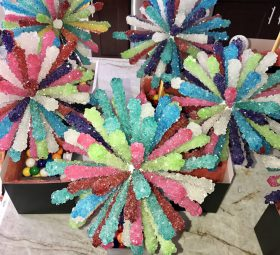Rock Candy Sticks Centerpieces