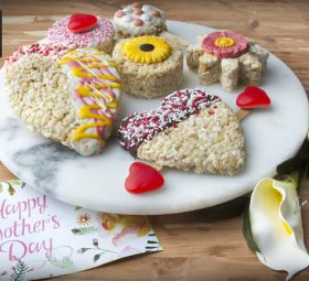 Mother's Day Rice Crispy Treats