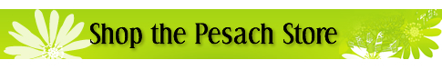 Shop the Pesach Store