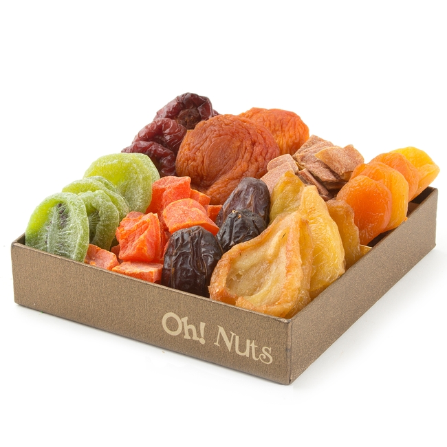 8 Variety Dried Fruit Gift Basket Box Dried Fruit Gift