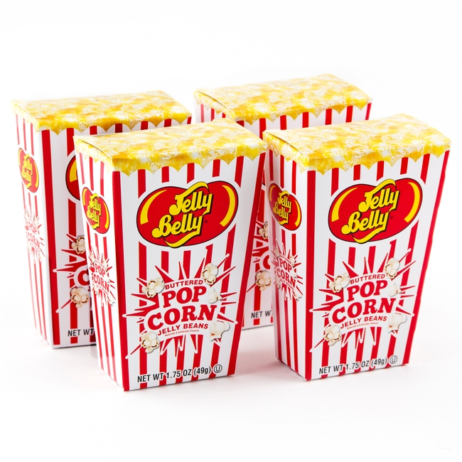 Buttered Popcorn Jelly Beans Box 1 75 Oz Jelly Beans Candy Bulk Candy Oh Nuts