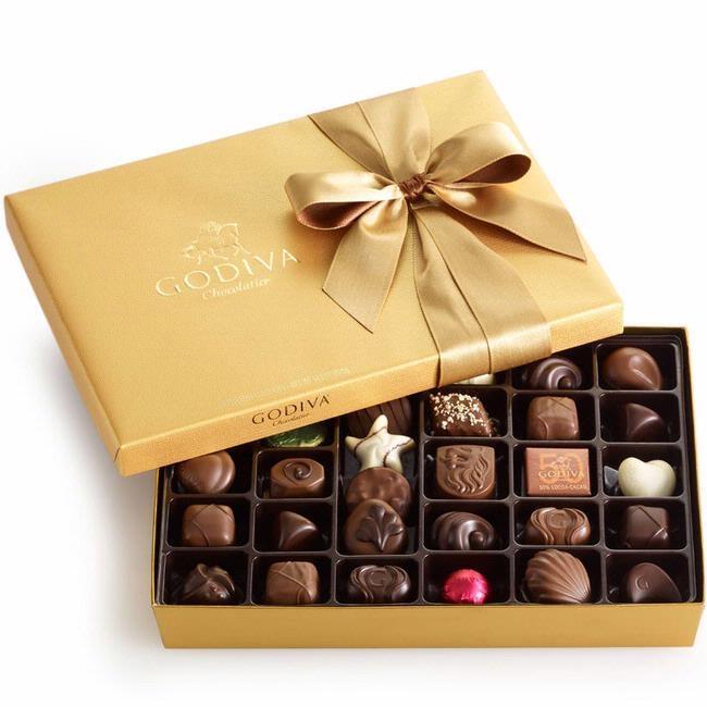 Godiva Gold Ballotin Chocolate Truffle Gift Box - 36-Pc ... Belgium Chocolates Brands