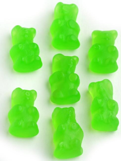 green gummy bears green apple � gummies amp jelly candy