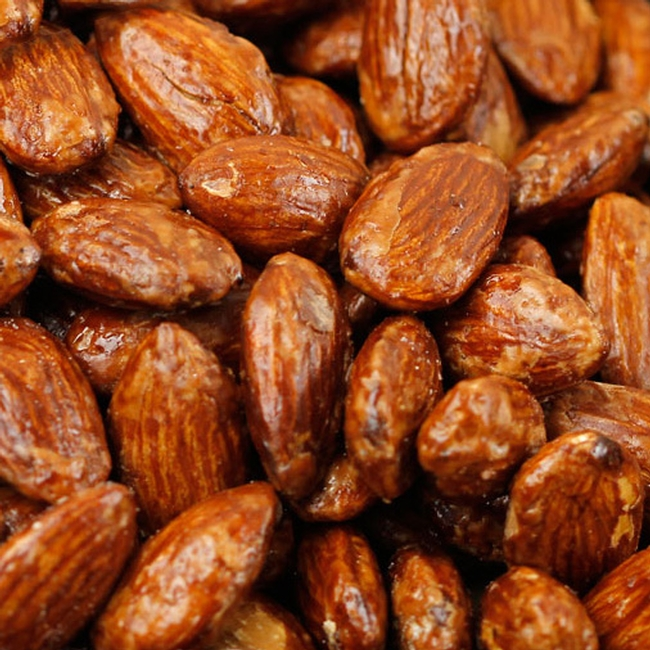 how to make roasted almonds with honey
