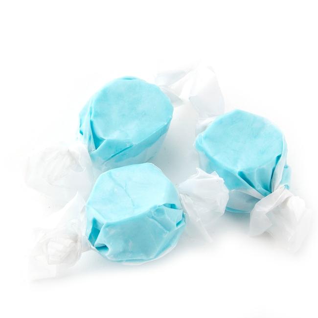 Light Blue Salt Water Taffy - Blue Raspberry • Oh! Nuts®