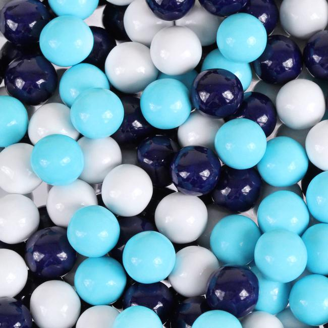 Navy Blue Powder Blue Amp White Sixlets Candy Color