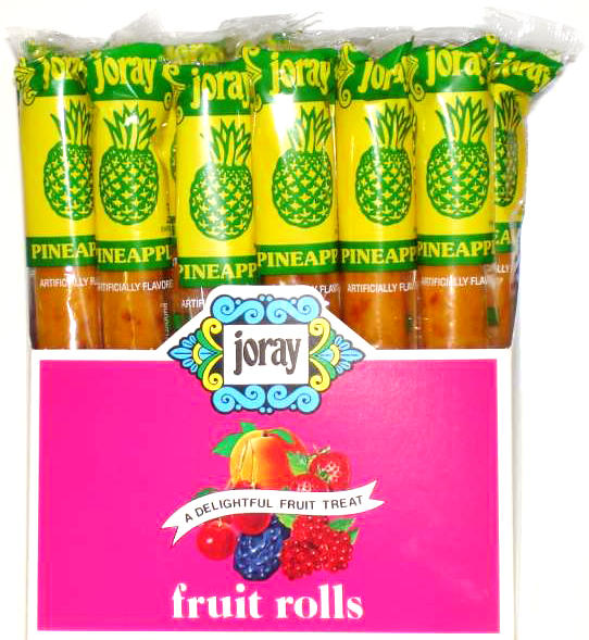 Pineapple Fruit Leather Rolls Joray Fruit Rolls Fruit