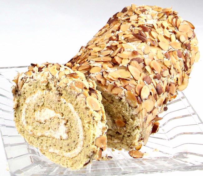 Passover Praline Nut Roll Cake - 16 oz • Passover Cakes • Passover ...