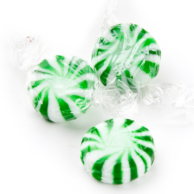 sugarfree spearmint starlight candy � sugar free wrapped