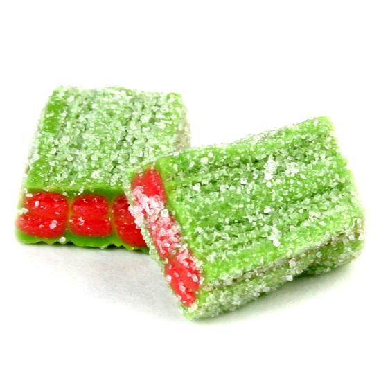watermelon licorice sour gummy cubes � gummies amp jelly