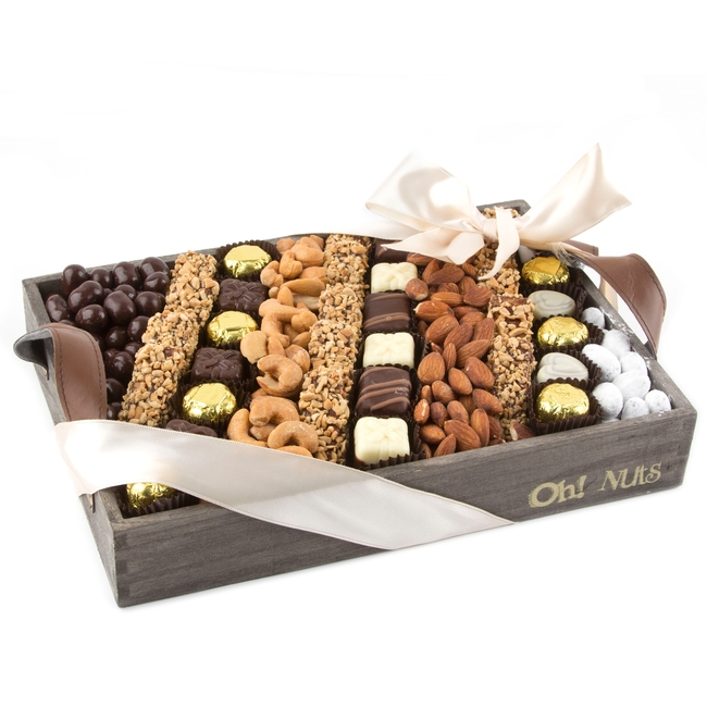 Chocolate Line-Up Kosher Gift Basket