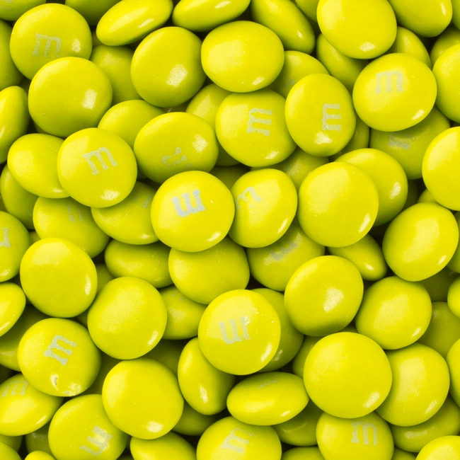 Electric Green M&M's Chocolate Candy • M&M's Chocolate ...