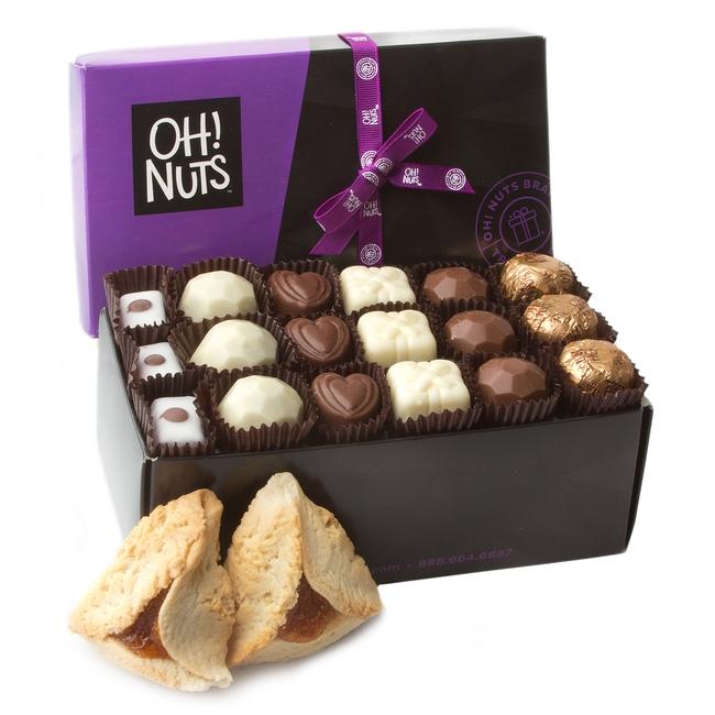 18 Chocolate Truffles Hamantaschen Purim Mishloach Manos