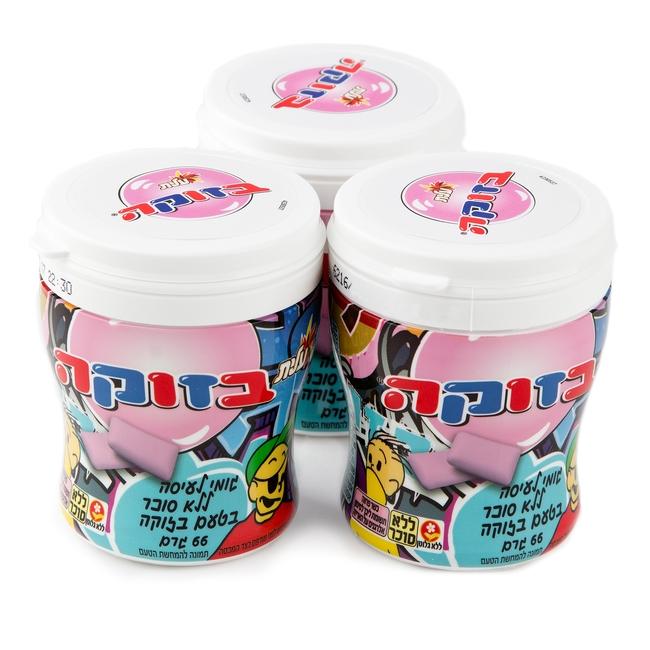 Elite Bazooka Sugar Free Gum Tubs - 6CT Box • Elite Sugar