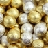 Gold & Silver Foiled Milk Chocolate Balls