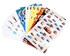Disney Cars Nosh Box (with 500 Stickers) - 6-Pack