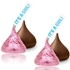 It's a Girl! Hershey's Milk Chocolates Kisses
