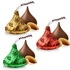 Hershey's Holiday Milk Chocolate Kisses with Almonds - 70-Pc. Bag